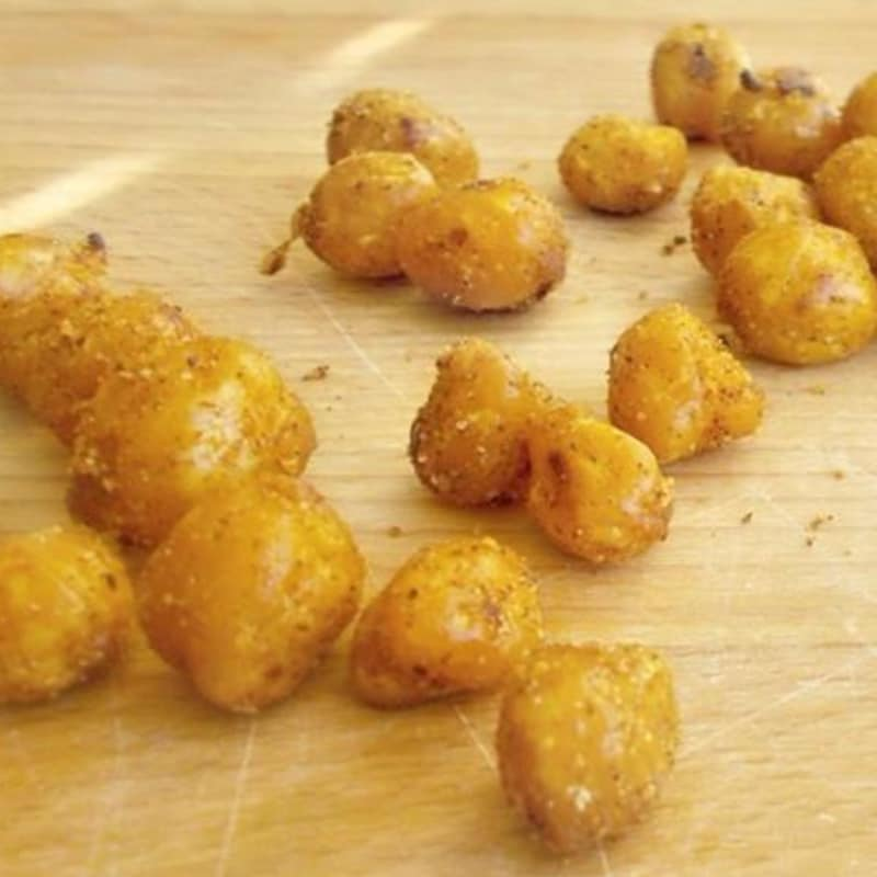 Crispy chickpeas