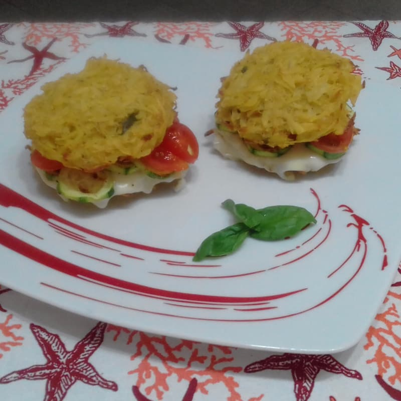 Rosti Burger Tricolore...