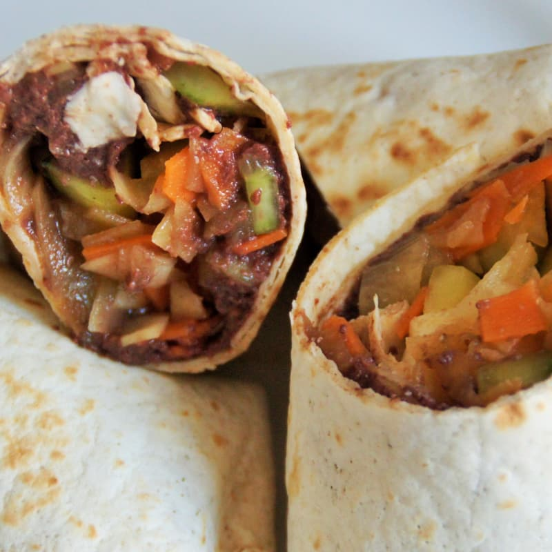 burritos vegetarianos