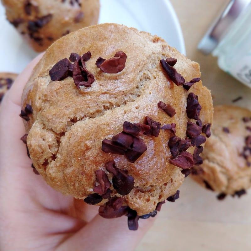 Muffin Proteici Avena Cioccolato