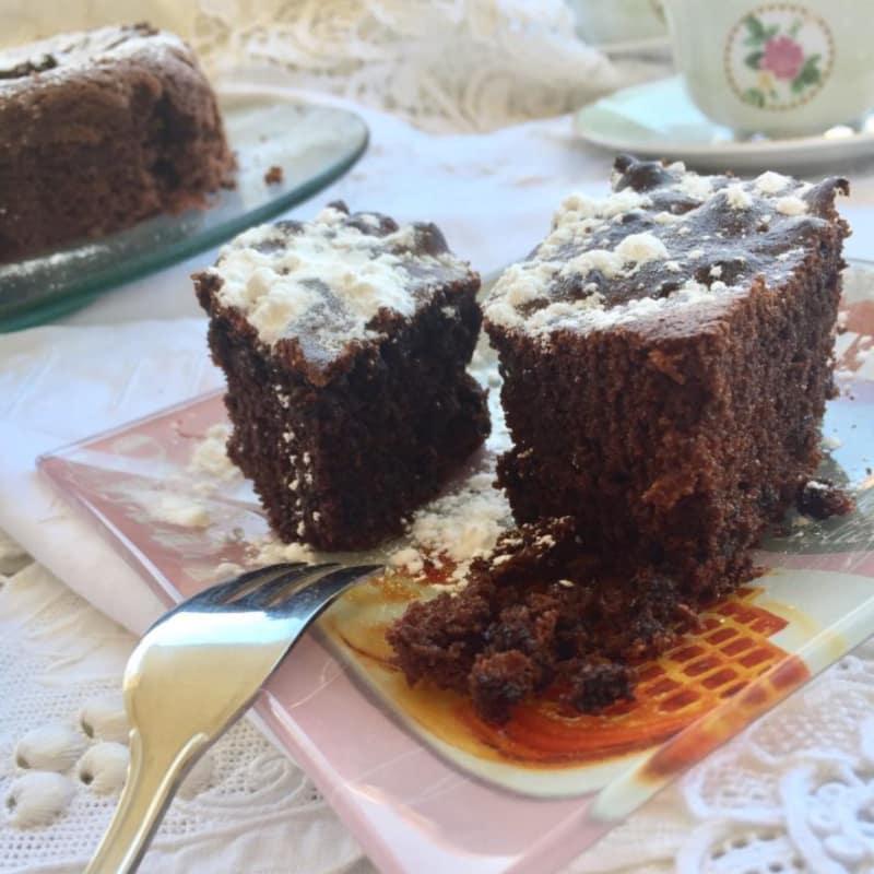 Torta de chocolate y aceite de oliva