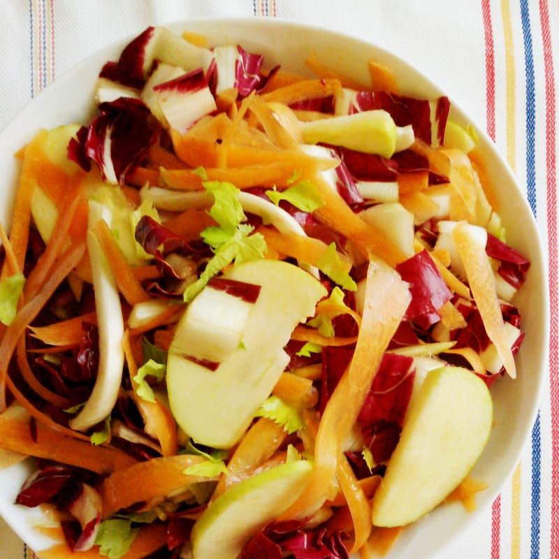 Colores en ensaladas