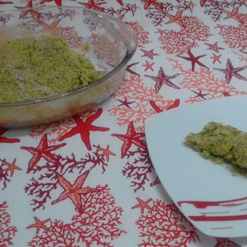 Pastel de carne con patatas y judías verdes ...