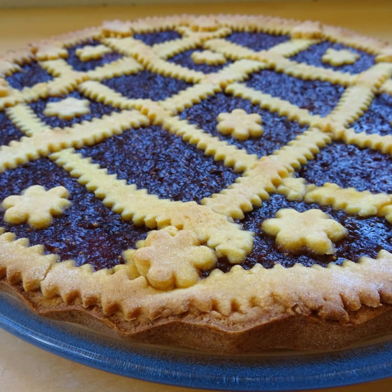 Crostata All'olio Senza Glutine
