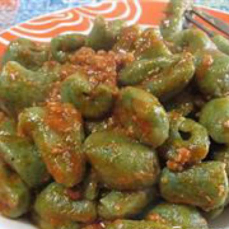 Receta Ricotta gnocchi y ortigas