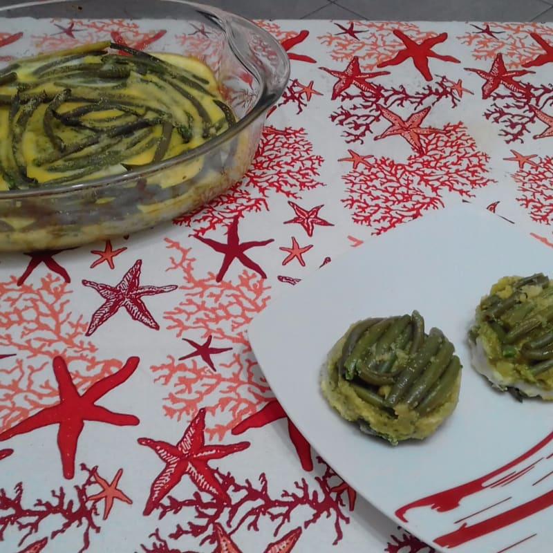 Empanadas de judías verdes con el corazón De cremoso calabacín ...