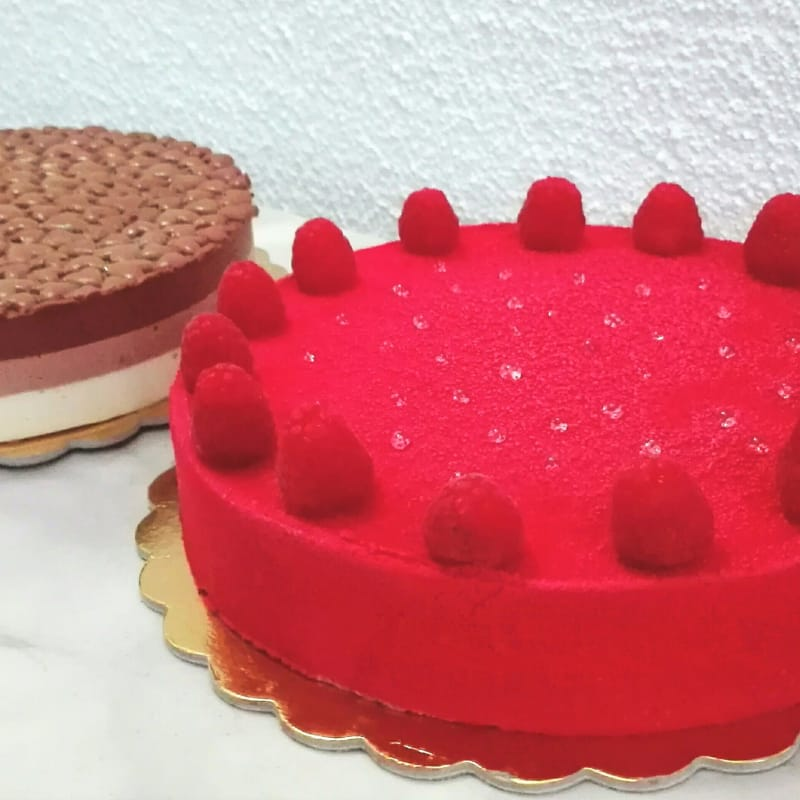 Mousse Rosso Lampone