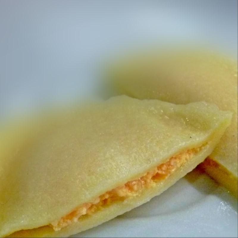 Raviolis de calabaza y queso ricotta