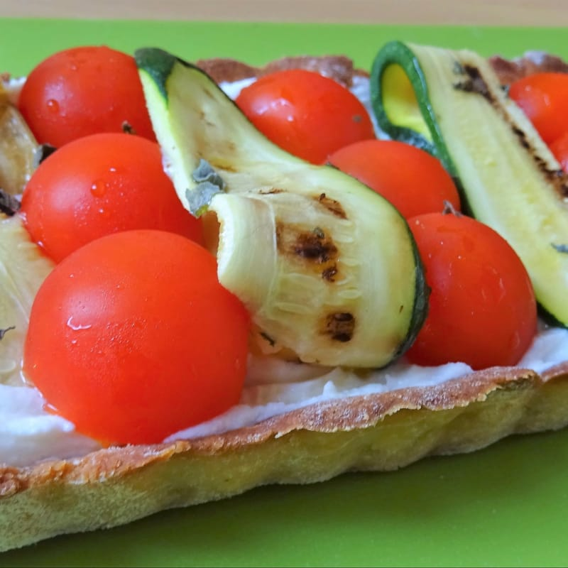 Crostata Salata Fredda