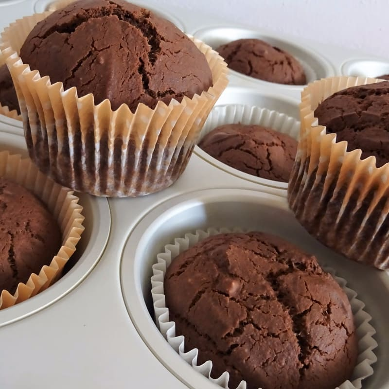 Muffin vegano senza glutine
