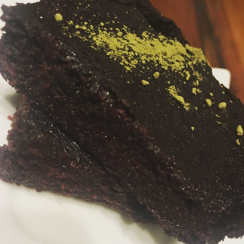 Brownie de betarraga o remolacha