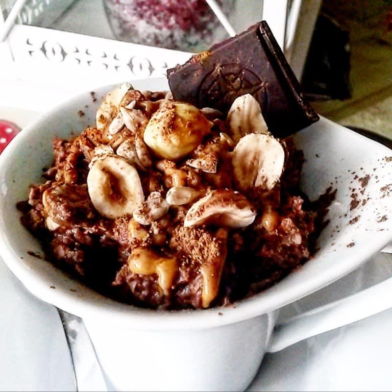 garbanzo hummus, y el cacao amargo