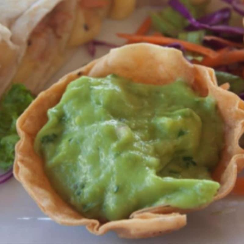 Burritos al guacamole
