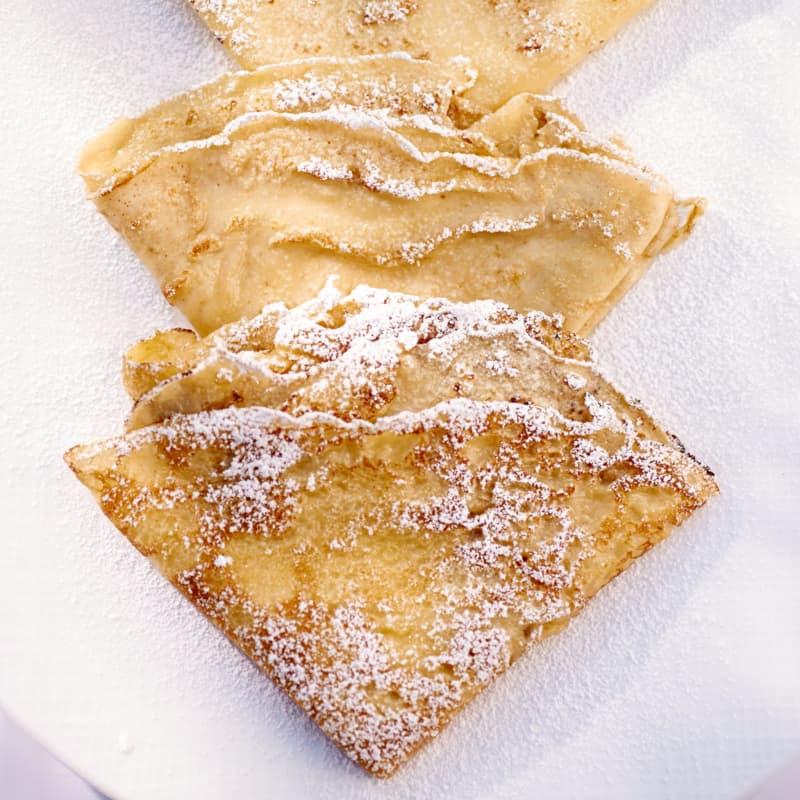 Crepes alla vaniglia
