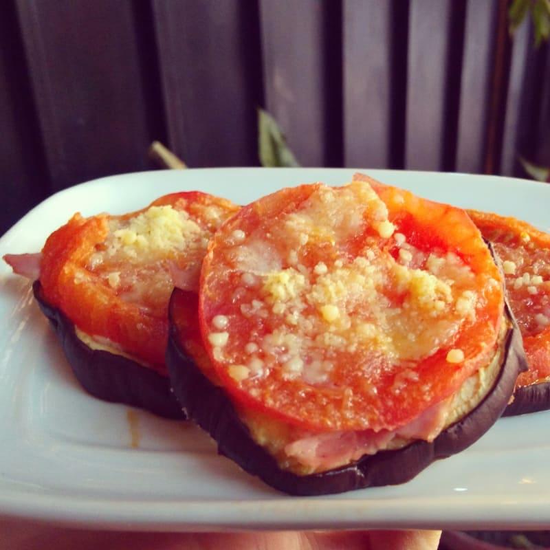 Pizzetas melanzane