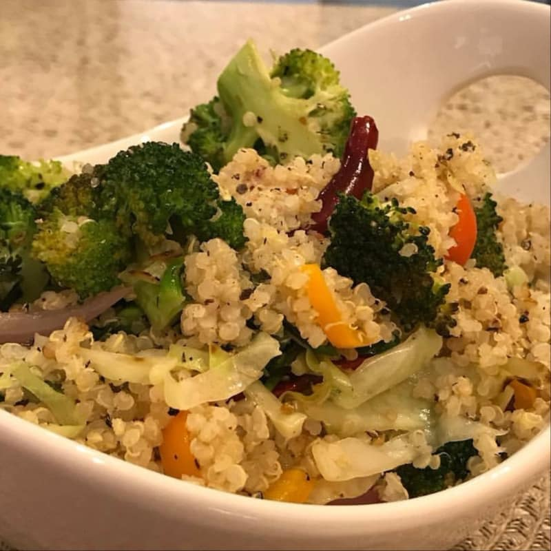Salteado de Vegetales con Quinoa