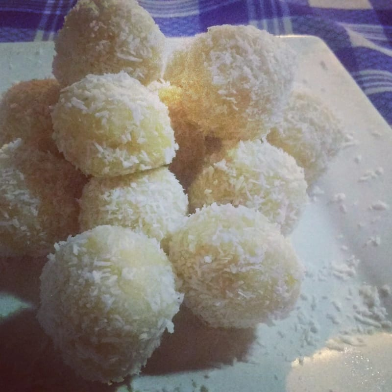 Coconut lemon chocolates