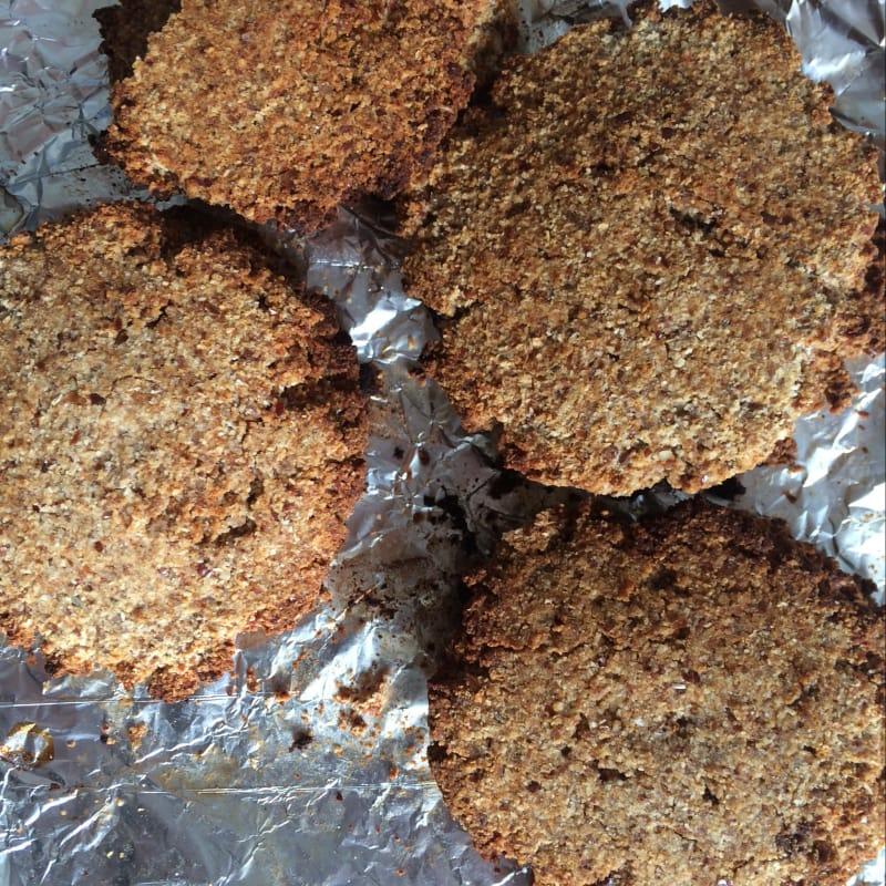 Galletas sin gluten de miel almendras y coco