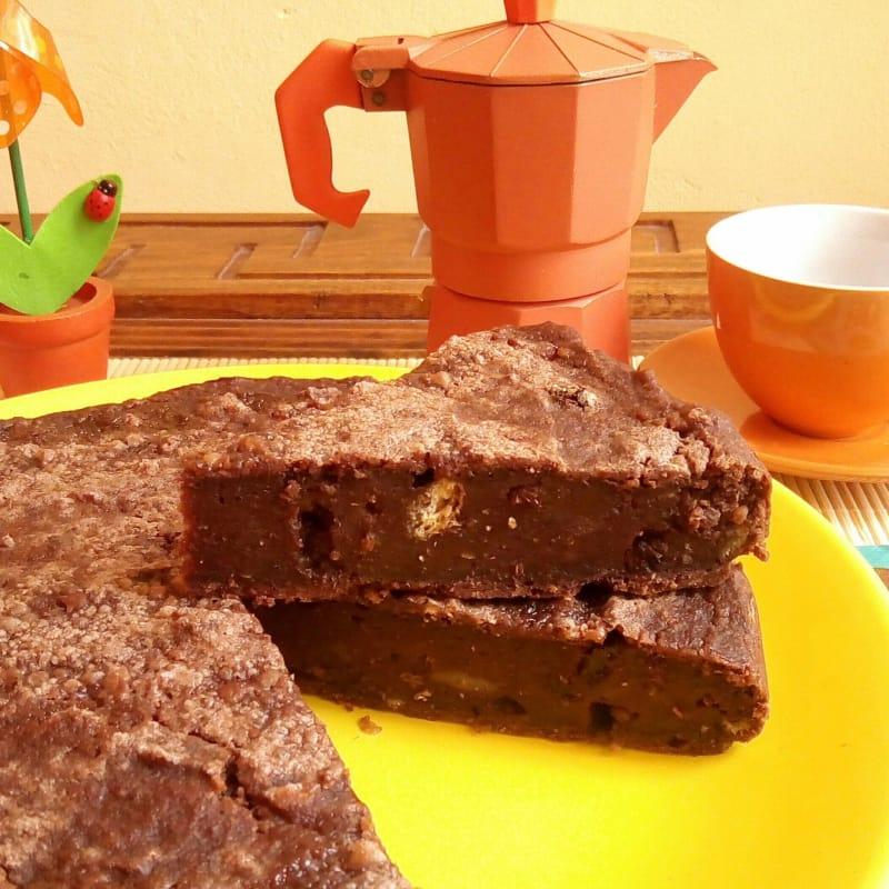 negro o pastel pastel de pan