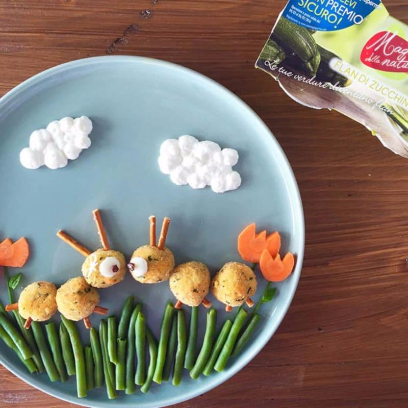 Bruchetti miglio e zucchine