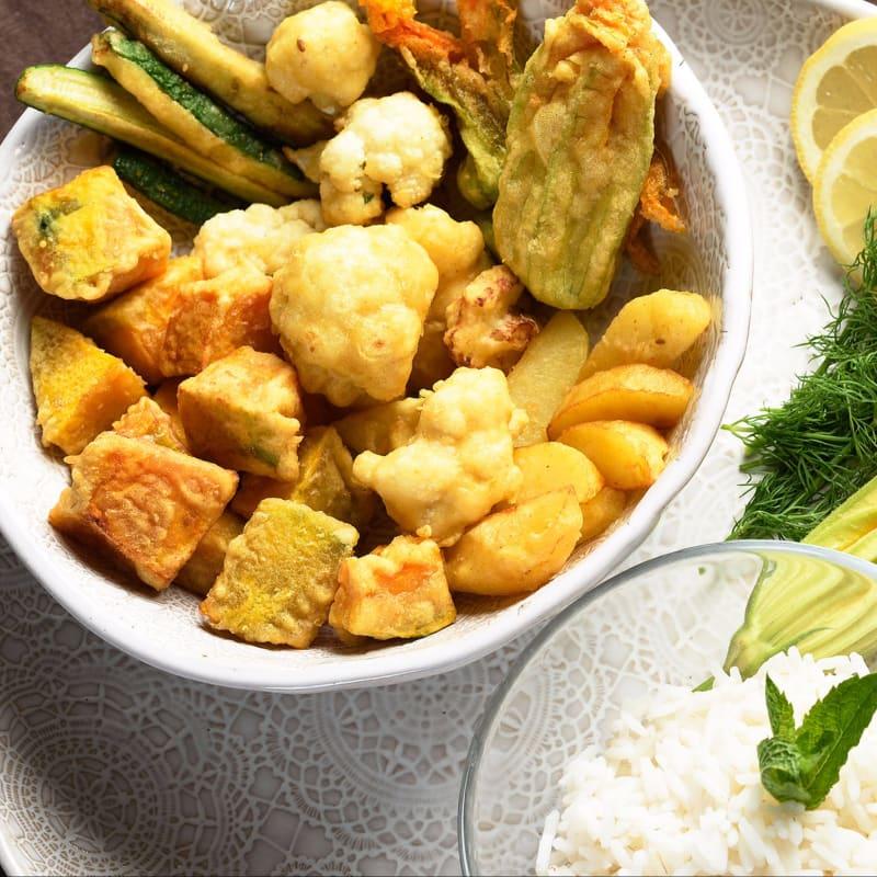 Fry vegetal indio