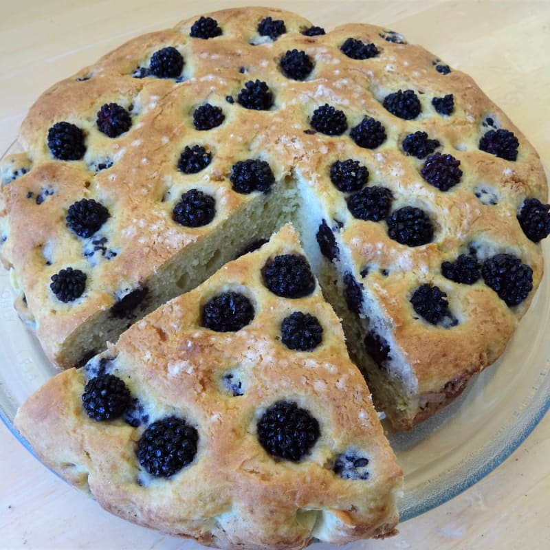 Torta senza glutine Ricotta e More