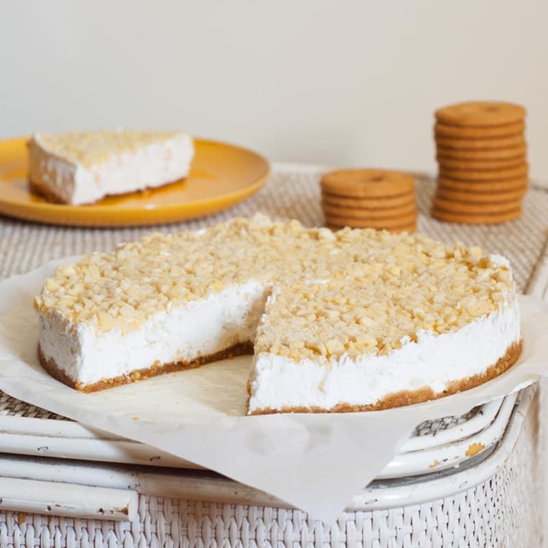 Cold Cake Almonds