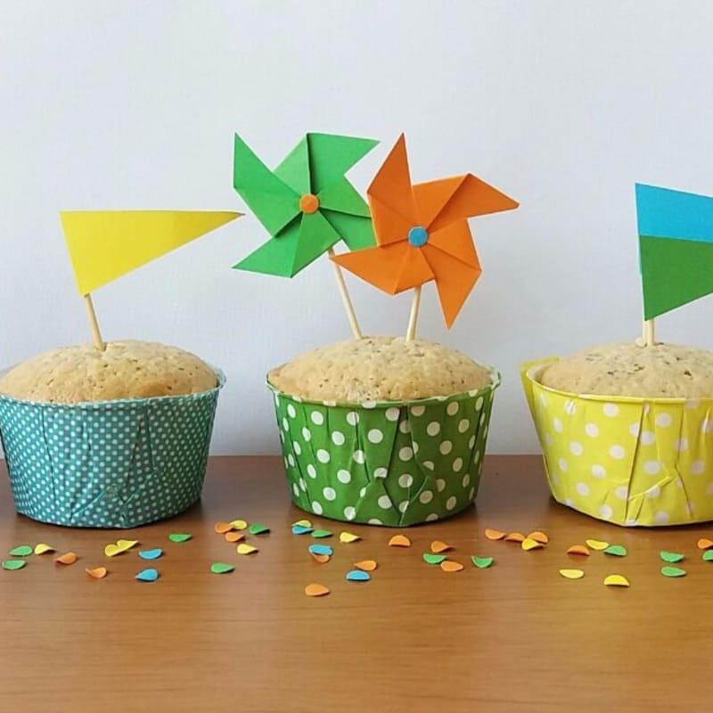 Muffins carota per i bambini!