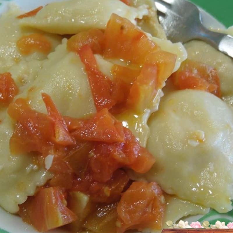 ravioli de patata