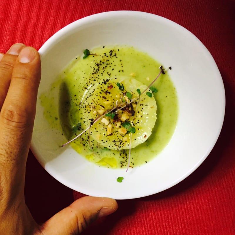 vellutatina di zucchine e patate