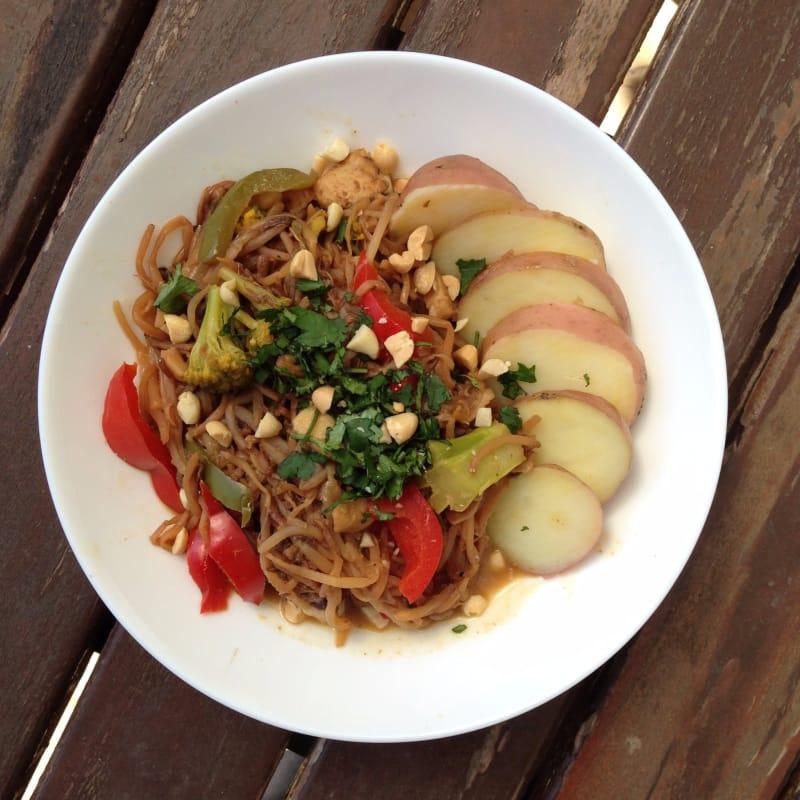 Pad Thai de Dientes de Dragón