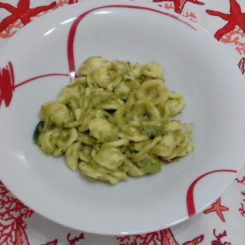 Frijoles orecchiette Al Pesto Verde ... !!!