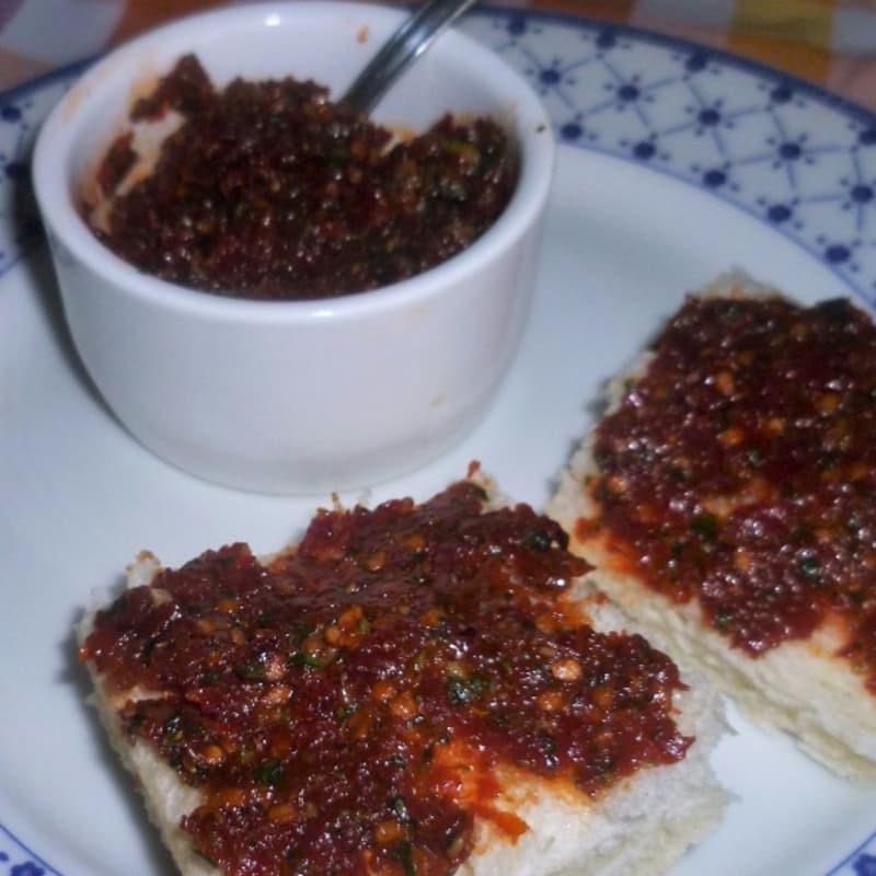 Capuliato: preparado para tostadas y bruschette