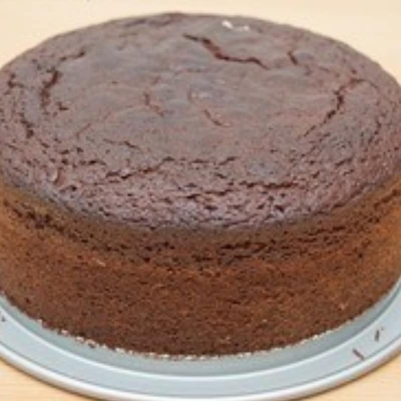 pastel de chocolate y mermelada de naranja
