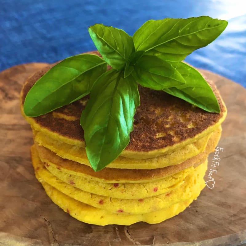 Pancakes salati (o frittelle) di zucca senza glutine
