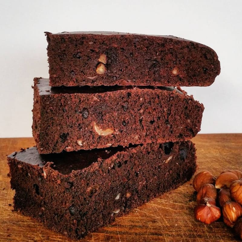 Brownies fit alle nocciole.