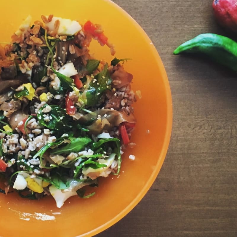 Cavoli in insalata