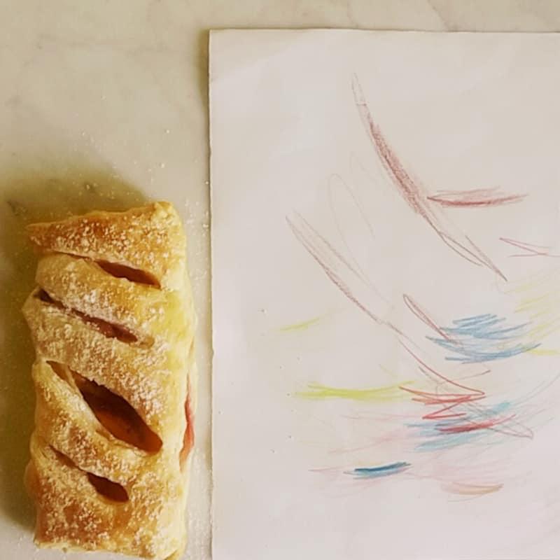 melocotón Pasteles de soplo
