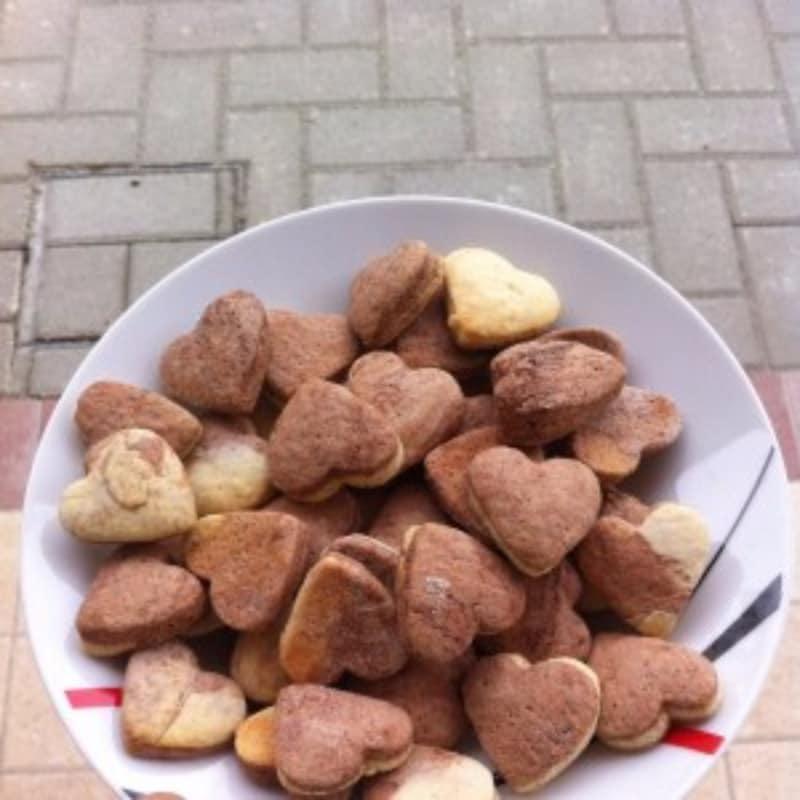 Biscotti bicolor sugar free