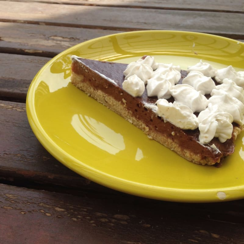 Chocoplatano and Coconut Cream Pie