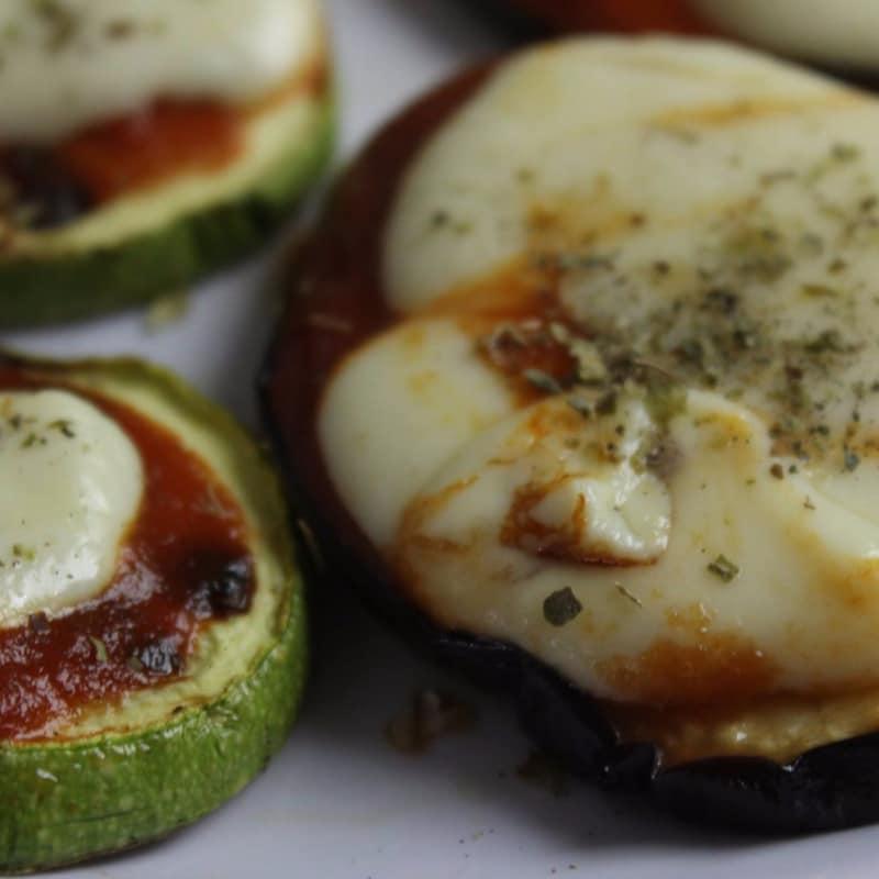 Pizzetas de verduras