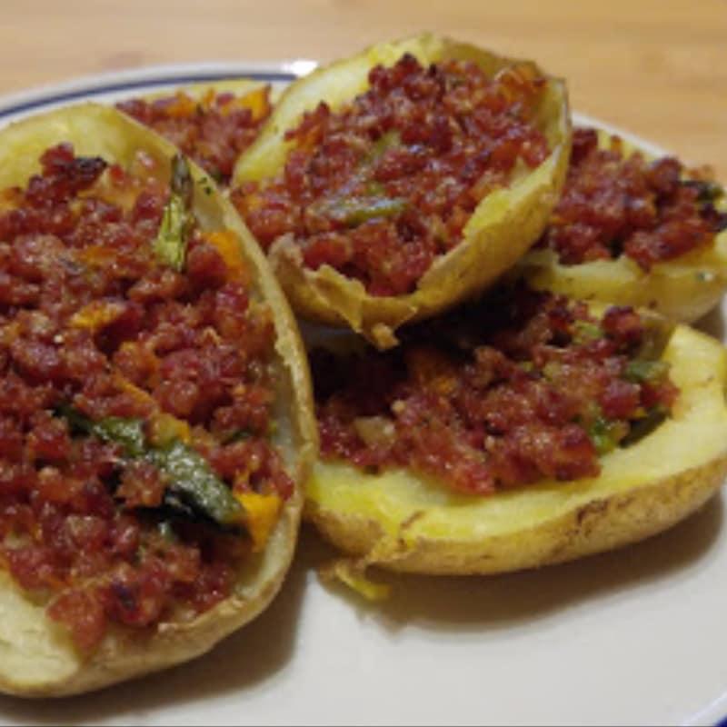 Barchette di patate svuota frigorifero