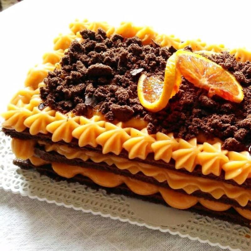 Torta cioccoarancia