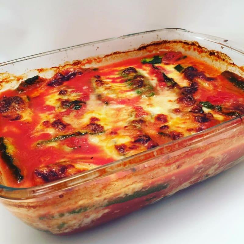 Calabacín parmesano ajuste