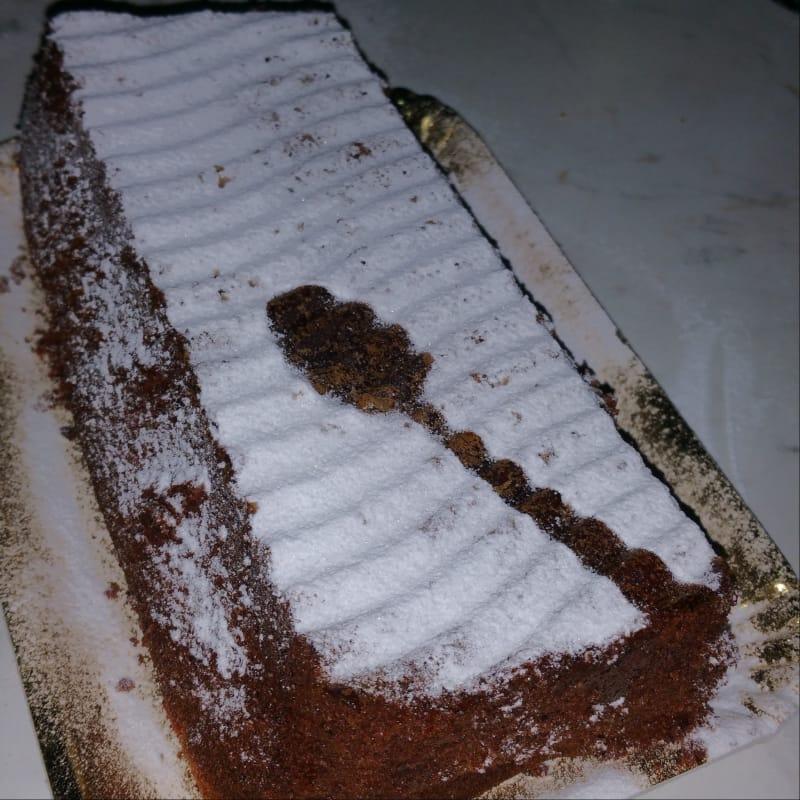 Plum cake cioccolato fondente