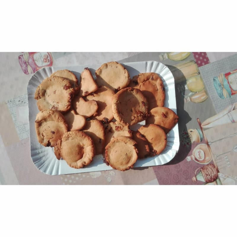 galletas veganas con pasas gluten