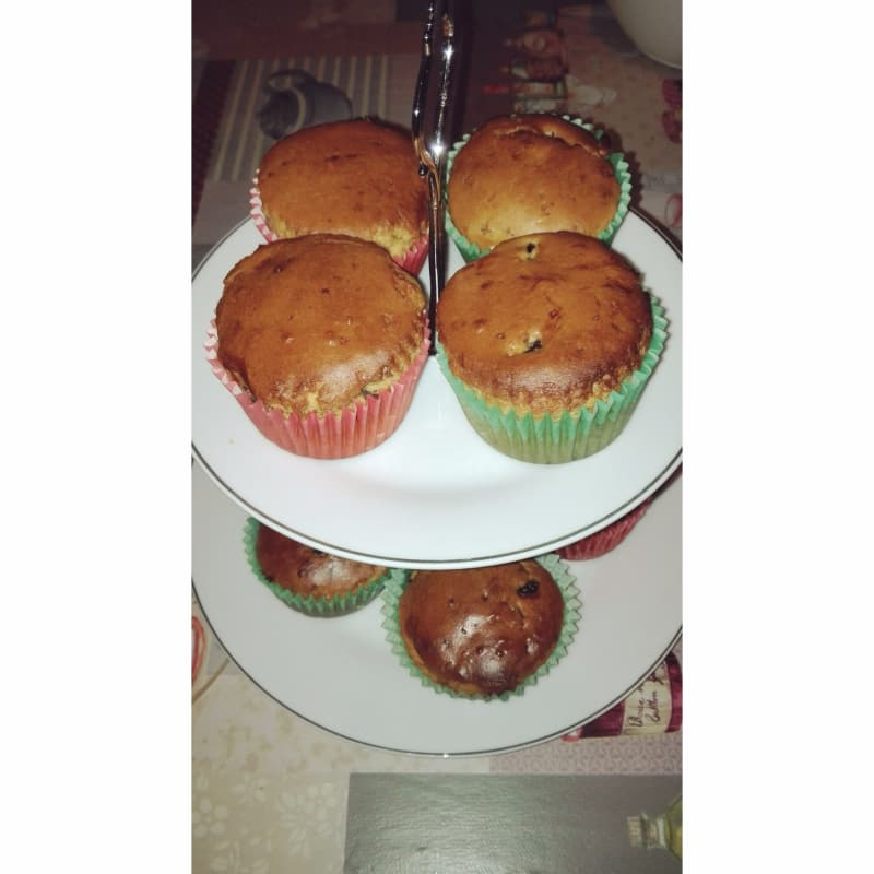 Muffin vegan and gluten free