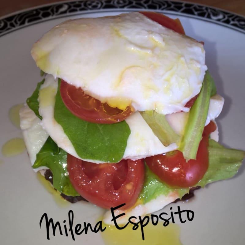 millefoglie of mozzarella