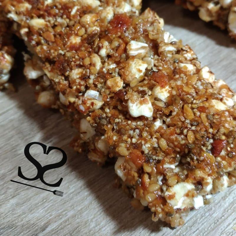 Bares y semillas de aperitivos y cereales