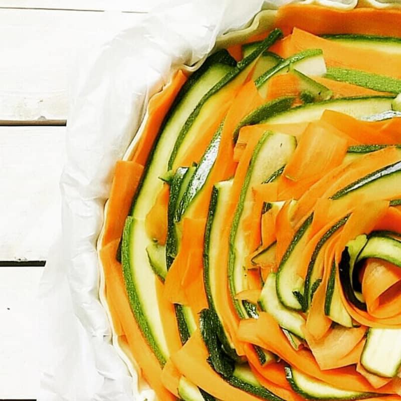 multicolor quiche
